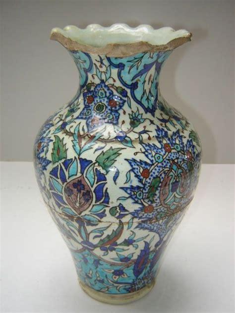Turkish Vase antique ottoman turkish islamic kutahya ceramic vase ebay turkish porcelain ceramics