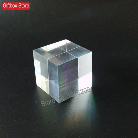 Acrylic Tebal 1 Cm 60mm thickness clear plexiglass solid display block acrylic square shaped cubes crafts us239
