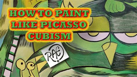 how to paint cubism how to paint cubist abstract style like picasso quot the charm