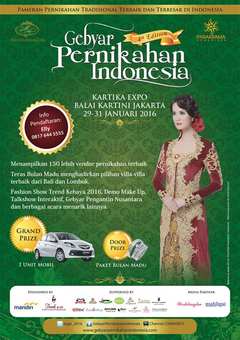 Wedding Organizer Terkenal Di Indonesia by Rina Gunawan Wedding Pameran Pernikahan