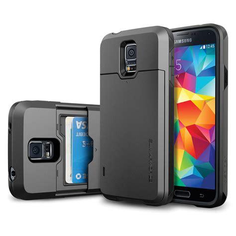 Spigen Slimarmor Samsung Galaxy S5 S 5 Slim Armor Hardcase spigen slim armor cs for galaxy s5 gunmetal