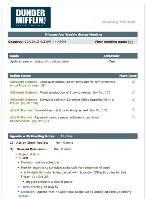 meeting agenda template how to run more effective and efficient