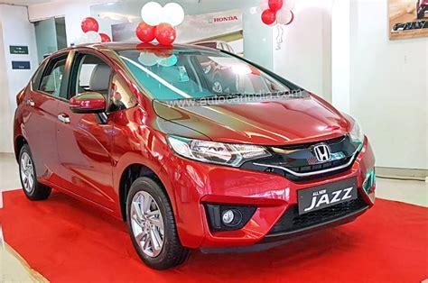 all new honda jazz 2018 2018 honda jazz price variants explained autocar india