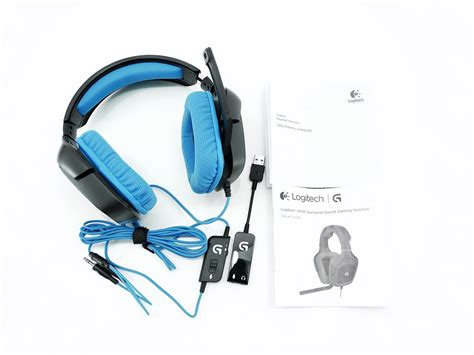 Sound Card Headset Gaming Logitech G430 Surround Sound Gaming Headset Review