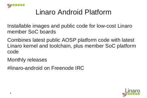 android kernel linaro and android kernel