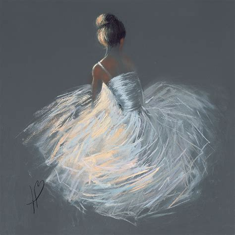 Balerina Canvas hazel bowman canvas prints ballerina pictures large