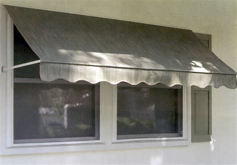 rainbo window awnings sunbrella fabric window awning