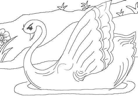 the ugly duckling coloring pages coloring home