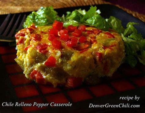 chile relleno pepper casserole denver green chili