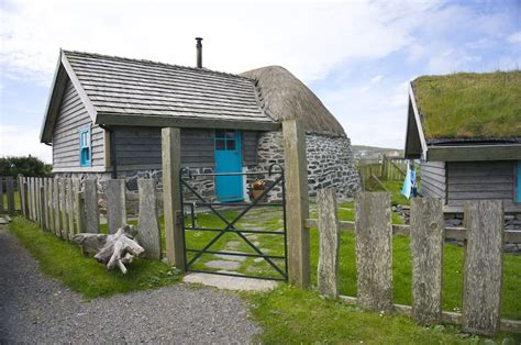 Cottages In The Outer Hebrides by Thatching Lamraig Cottage Isle Of Berneray Outer
