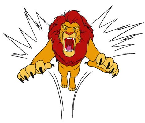 imagenes animadas leon leon animado imagui