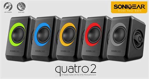 Sonicgear Quatro 2 By Dpcom speaker sonicgear quatro 2
