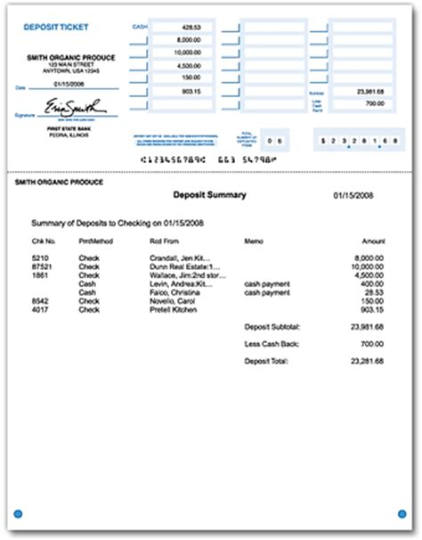 printable deposit slips 1 part qbbob com