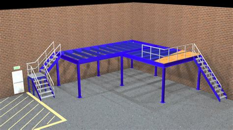 how building a mezzanine can increase storage and office space mezzanine floor build youtube