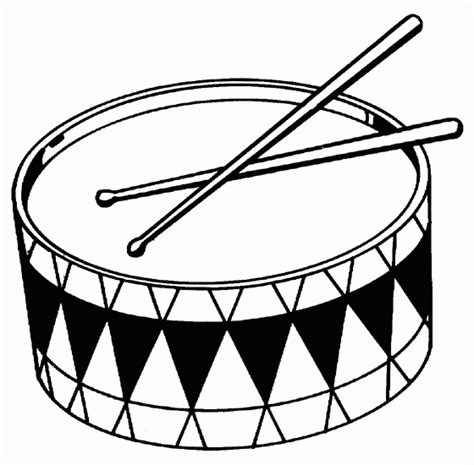 drum template www drums coloring pages coloring pages