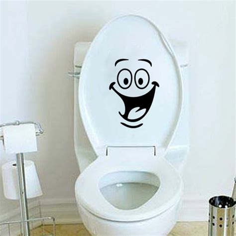 wallpaper dinding toilet sticker wallpaper dinding laughing black