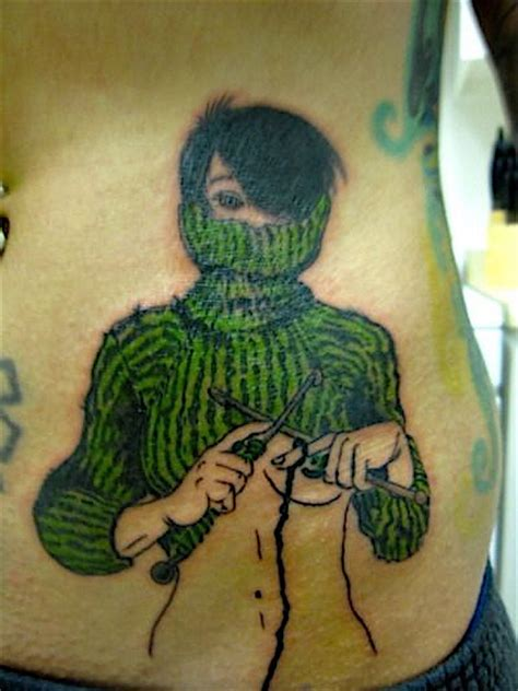 knitting tattoo even more knit tattoos a knitting