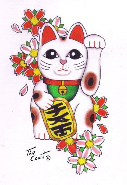 best 20 lucky cat tattoo lucky cat wallpaper www pixshark images galleries