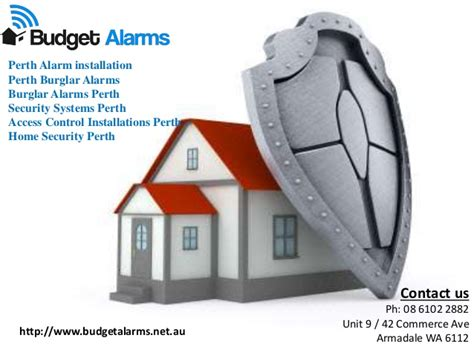 budget alarms offer high home security services in perth