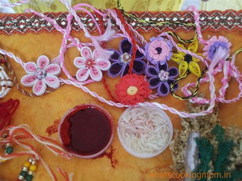 Beautiful Handmade Rakhi - happy rakhi whats cooking