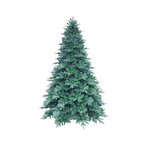 7 5 ft blue noble spruce artificial christmas tree with