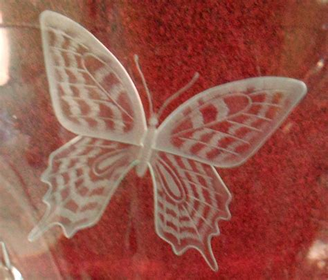 Waterford Butterfly Vase by Waterford Designers Gallery Butterfly Vase David
