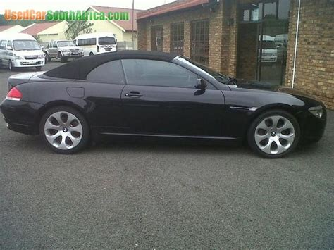 2006 Bmw 650i For Sale by 2006 Bmw 650i Convertible Used Car For Sale In Cape Town