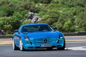 mercedes sls amg coup 233 electric drive at the
