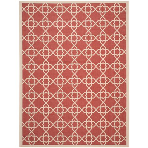 8 foot indoor outdoor rugs safavieh courtyard beige 8 ft x 11 ft indoor outdoor area rug cy6032 248 8 the home depot
