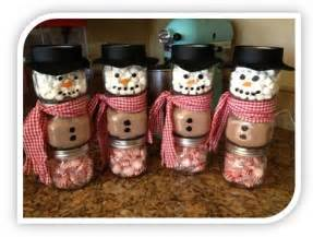 homemade christmas gift ideas stacked jar hot chocolate