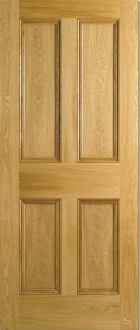 Interior Oak Panel Doors 4 Panel Flat Panel Malton Nostalgic Oak Doors