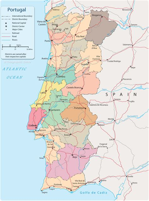 printable portugal road map map of portugal portugal regions rough guides rough guides