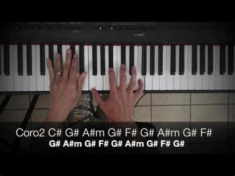 tutorial piano nada es imposible piano tutorial dios de lo imposible youtube