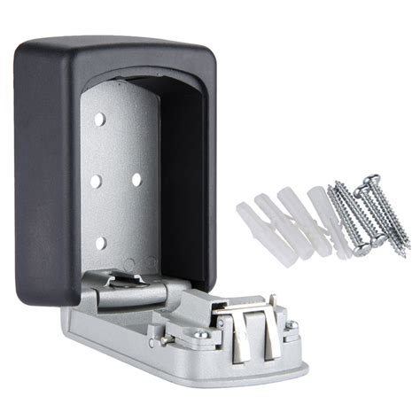 key cabinet with combination lock wall mounted 4 digit combination key storage security safe