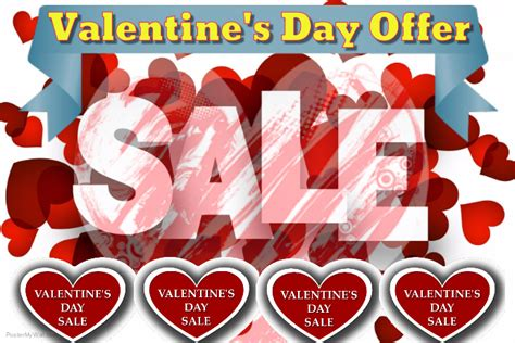 Valentines Offer At Collection by Valentines Day Offer Template Postermywall