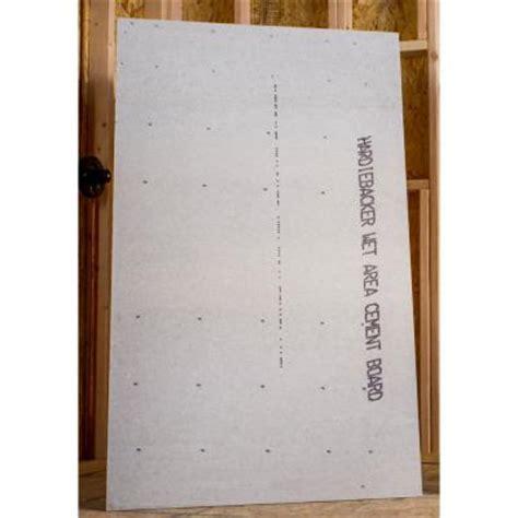 james hardie hardiebacker 3 ft x 5 ft x 0 42 in cement backerboard 220023 the home depot