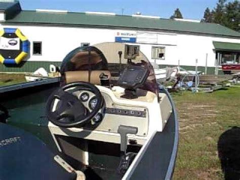 alumacraft boat windshield 1998 alumacraft 165cs youtube