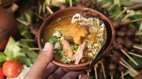 mengenal soto kwali  roti ganep kuliner  disebut