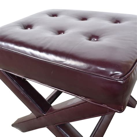 burgundy leather ottoman 90 burgundy tufted leather ottoman chairs