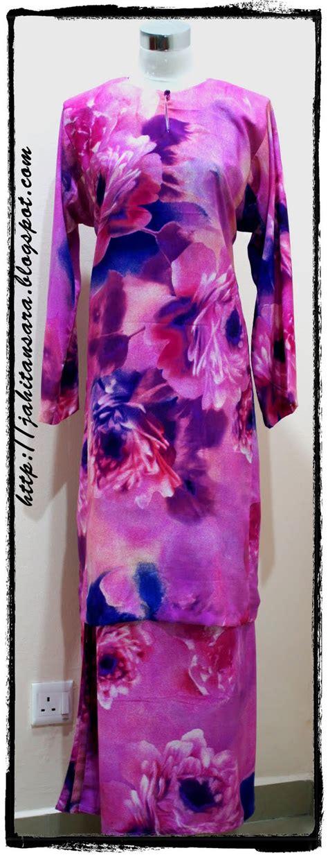 Dh Slmara Maxy tempahan baru jahitan tempahan baju kurung fesyen