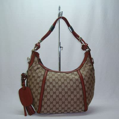 Wcn8 Tas Selempang Impor Boston 1 grosir tas dan dompet replika branded gucci techno horsebit medium hobo canvas