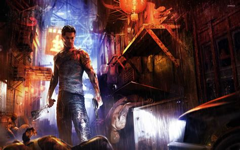 sleeping dogs wei shen sleeping dogs wallpaper wallpapers 15975