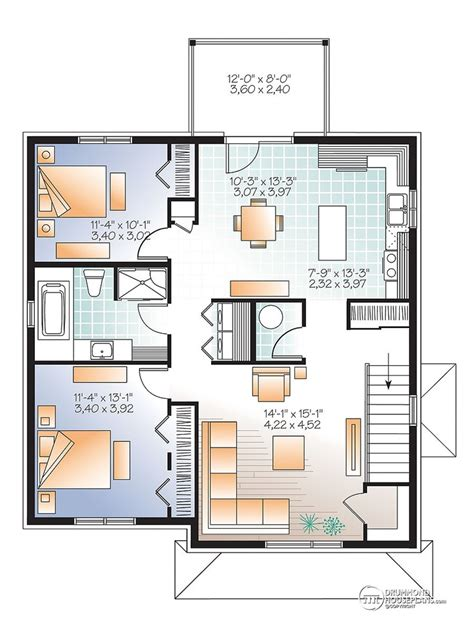 multi family home plans duplex 1000 images about duplex multi family abodes on