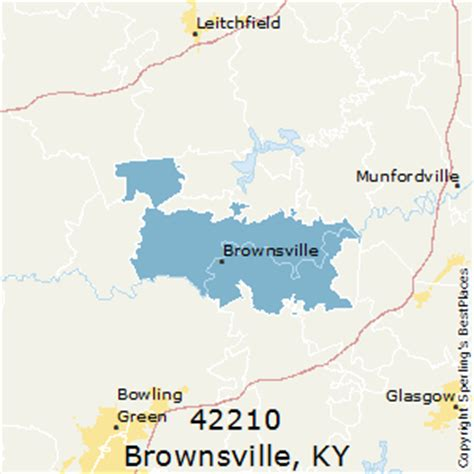 best places to live in brownsville (zip 42210), kentucky