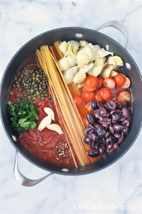 Cloves by Easy One Pot Pasta Puttanesca Creative Juice