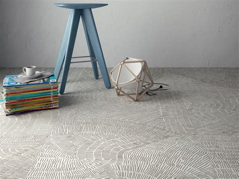fliese 60x60 fossil design porcelain tiles ispired by prehistoric imprints