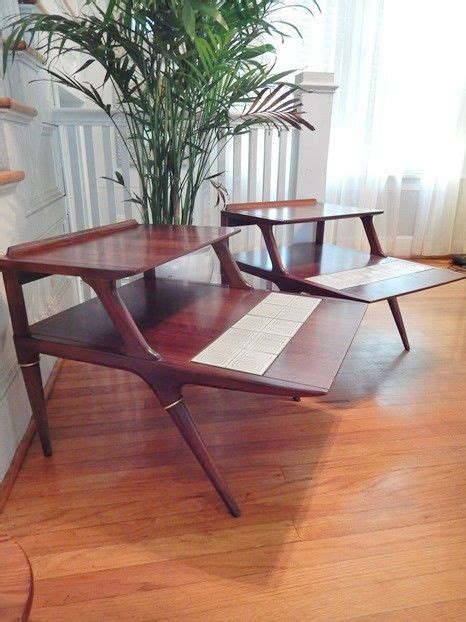 mid century accent table mcm modern jetsons space age cool 1000 images about mid century design on pinterest