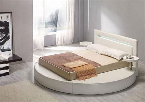 circle bed circle bed with rectangular king size mattress on a floor