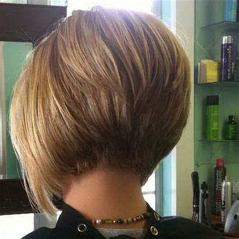 the bob haircut style front and back inverted bob hairstyle back view intended for dream