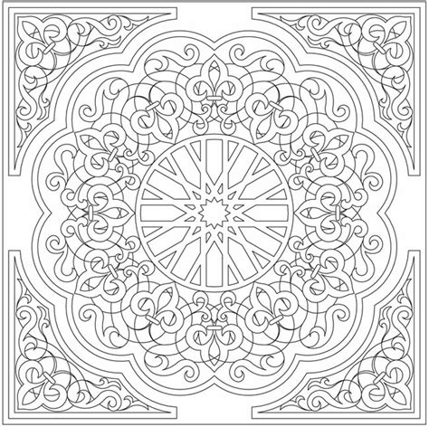 islamic tile coloring pages arabic coloring page totally cool as embroidery